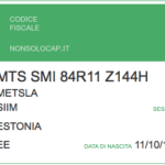 How to get Codice Fiscale yourself for free